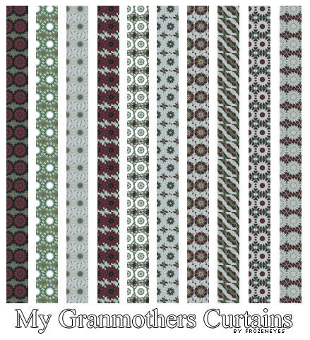 My Granmothers Curtains PS Pat by AlenaJay
