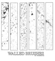 Walled Brushes by AlenaJay