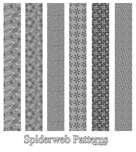 Spiderweb Patterns by AlenaJay