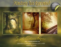 Fantasy background V02 by DIGI-3D