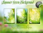 SUMMER GREEN BACKGROUND V01