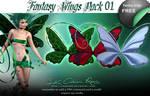 Fantasy Wings Pack 01