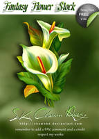 Fantasy Flower V 04 by DIGI-3D