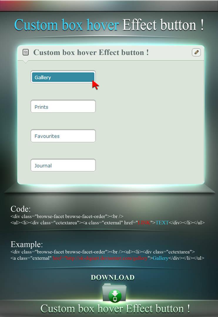 Custom 3D Effect Button | Asdela