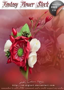 Fantasy Flower V 10