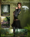 Forest Fantasy Backgrounds