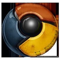 Worn Chrome icon by Treelz