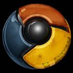 Worn Chrome icon