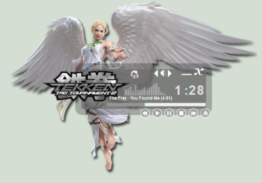 Tekken Angel Modern WinAmp Skin by seraphimax