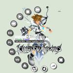 Kingdom Hearts II Sora Modern Winamp Skin