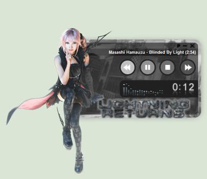 Lightning Returns: FFXIII Lumina WinAmp Skin
