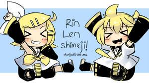 Pantsune RinLen Shimeji