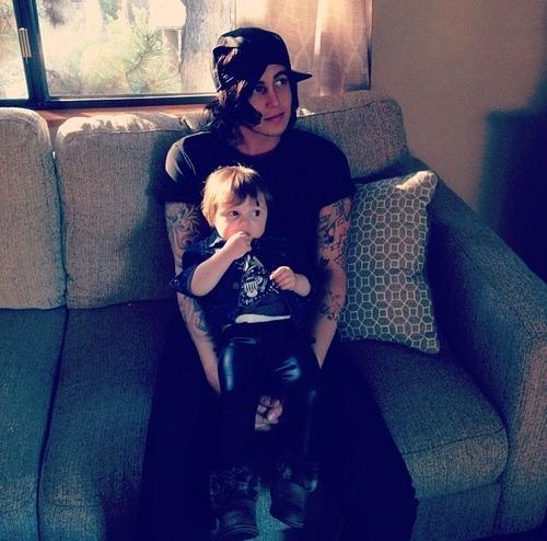 Kellin Quinn And Copeland 2014 Babysitting Copeland  A Kellin