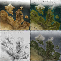 Map pack: styles I-IV by Luned