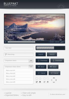 Bluepackt - Free web elements