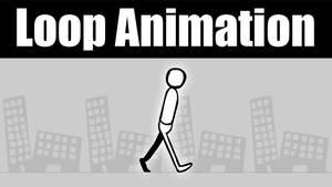 Simple walk animation by Animachado