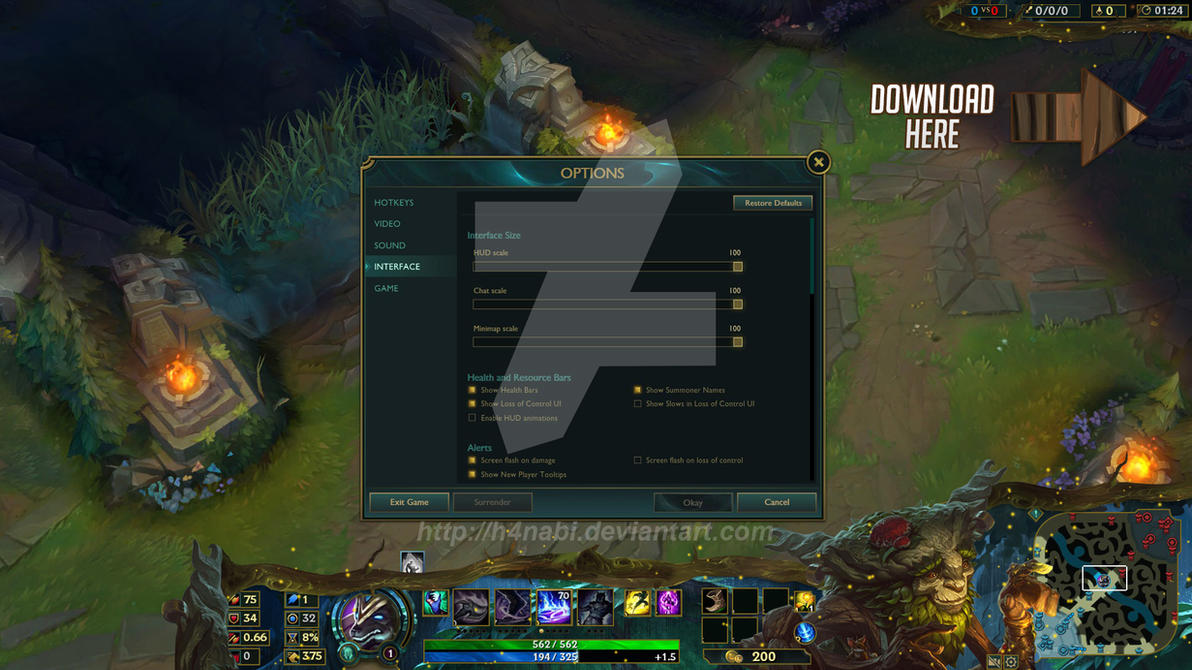 how to add overlay to league of legends