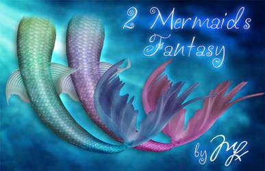 Mermaids Fantasy PNG by MLauviah