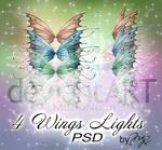 4 Wings Lights PSD