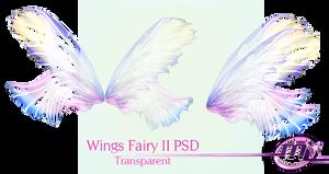 Wings Fairy II PSD Transparent!