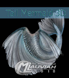 Tail Mermaid PSD