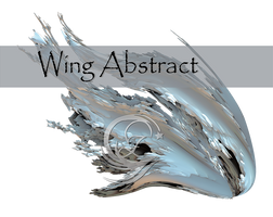 Wing Abstract PNG 3D