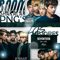 +Pack Png Seventeen by Pohminit
