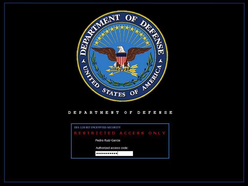 Dod Terminal Logon By Aruiz1 On Deviantart