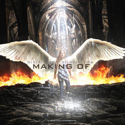 The Rise of an Angel - Making Of by neverdying