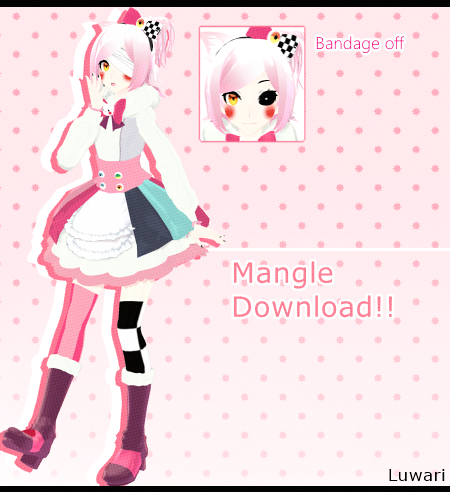 [MMD FNAF]  Mangle (Ds. AkiAki-San)  *DL* by Luwari