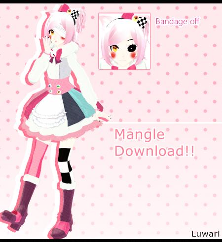 [MMD FNAF]  Mangle (Ds. AkiAki-San)  *DL* by Luwari