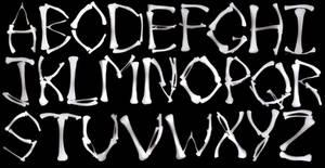 X-Ray Bone Letters