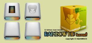 Rainbow HD iconz