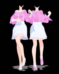 [MMD DL]TDA White Berry Outfit Edit by DiriSaKi