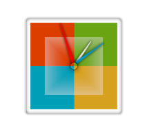 windows 8 clock for xwidget by PhysX4