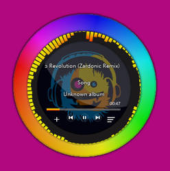 Simple Audio Player Created by PhysX4