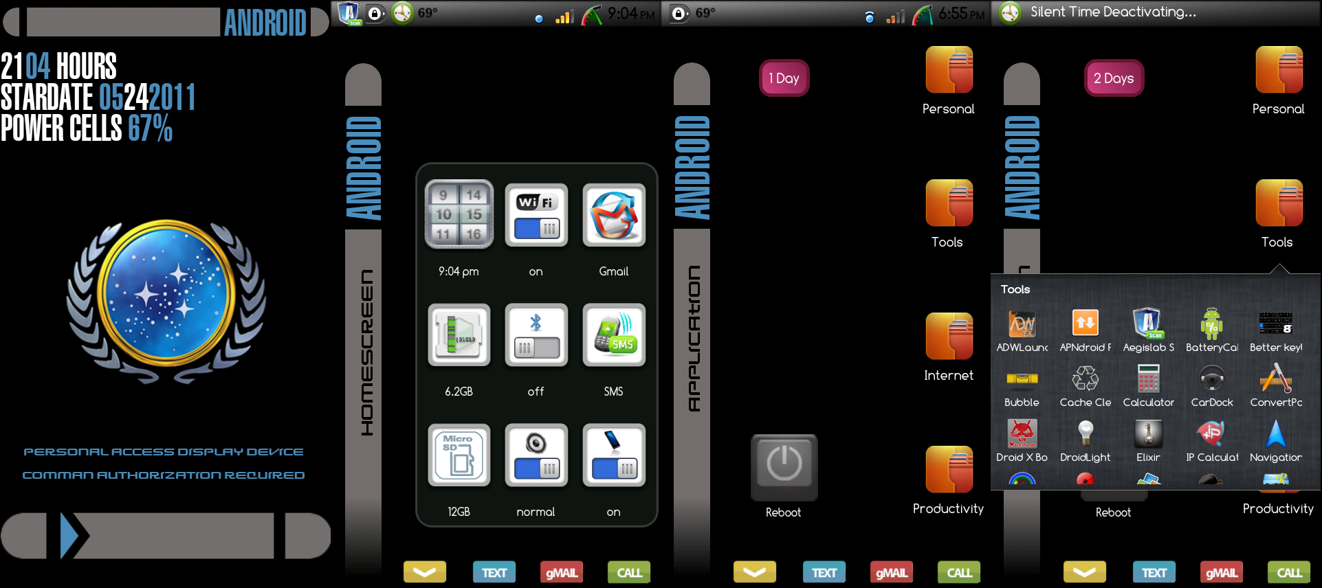 Android LCARS Theme by techsenseidavid on DeviantArt