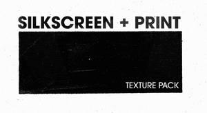 Silkscreen Print texture pack