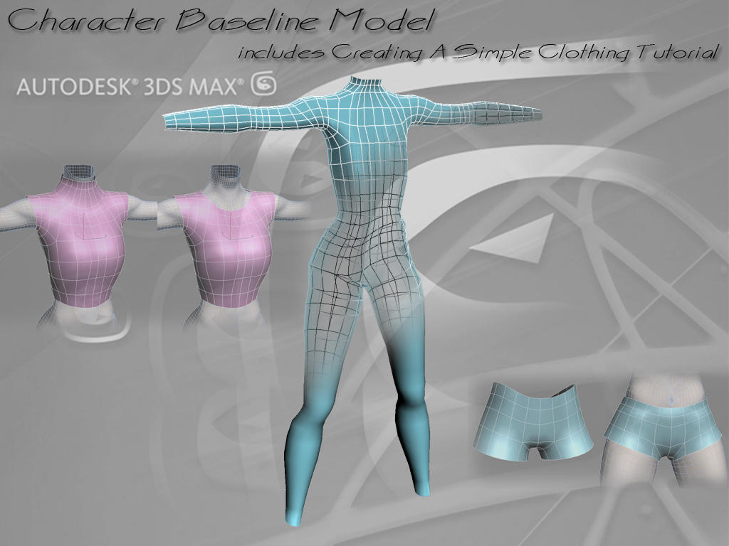 Character Body Baseline Model by fafcf09