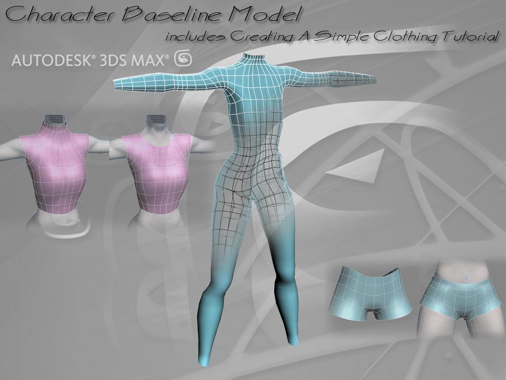 Character Body Baseline Model by fafcf09
