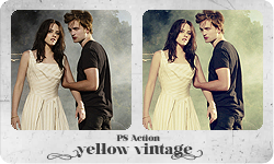 "PS Action ""Yellow Vintage"" by partynerd"