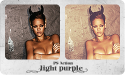 PS Action 'Light Purple' by partynerd