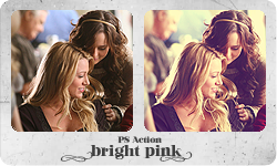 PS Action 'Bright Pink' by partynerd