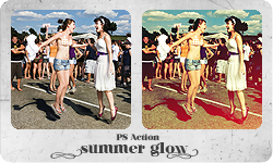 PS Action 'Summer Glow' by partynerd