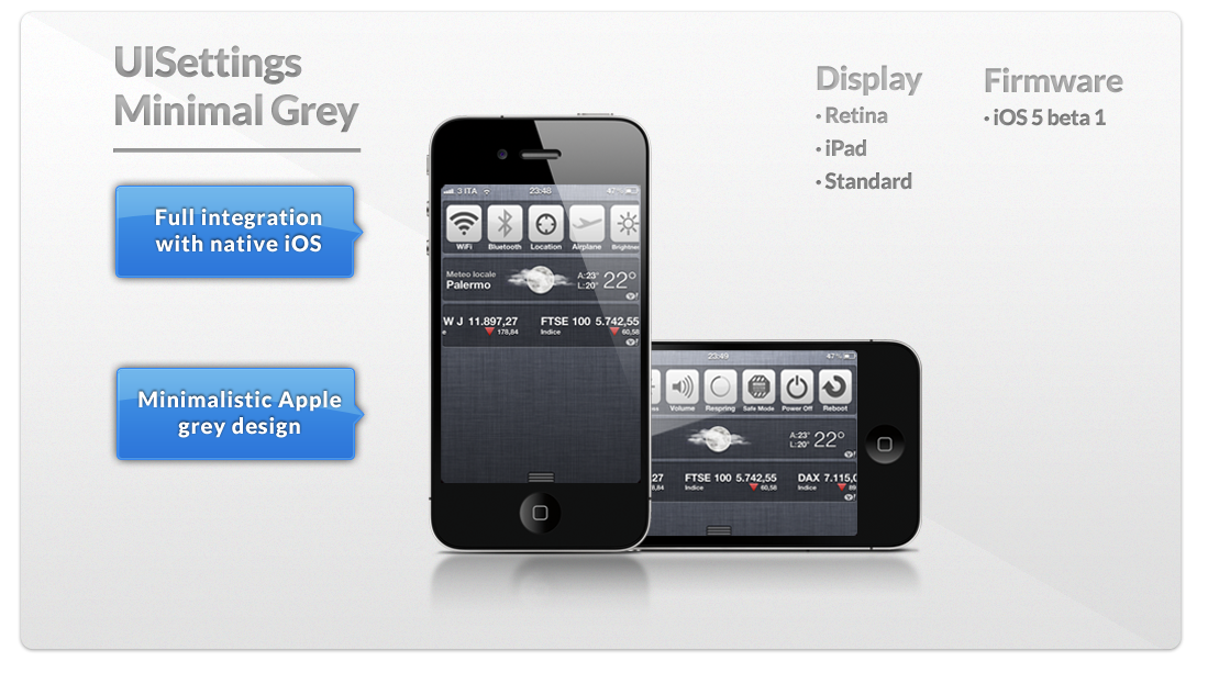where to find downloads on iphone minimal grey uisettings theme by mrnamelessit on deviantart 5419