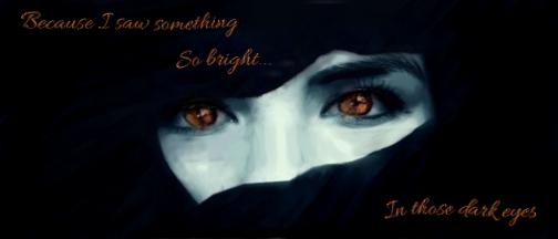 Dark Bright Eyes by InfinityCrash