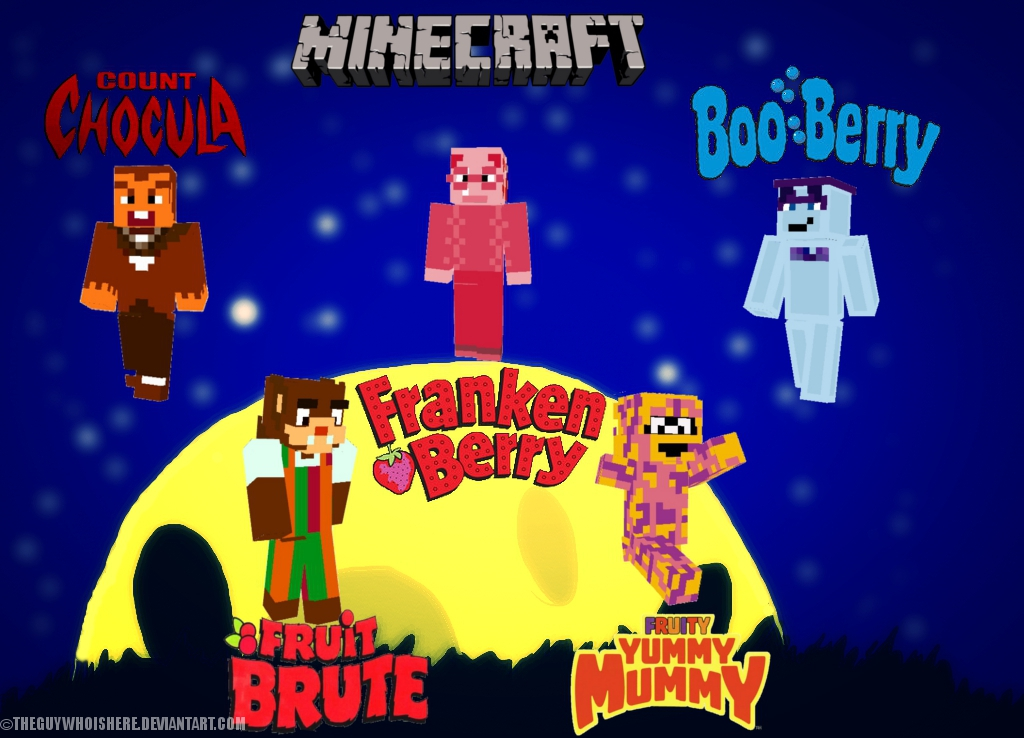 Monster Cereals Minecraft Skins By Theguywhoishere On DeviantArt - Monster skins fur minecraft
