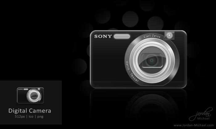 Digital Camera Icon by jrdnG