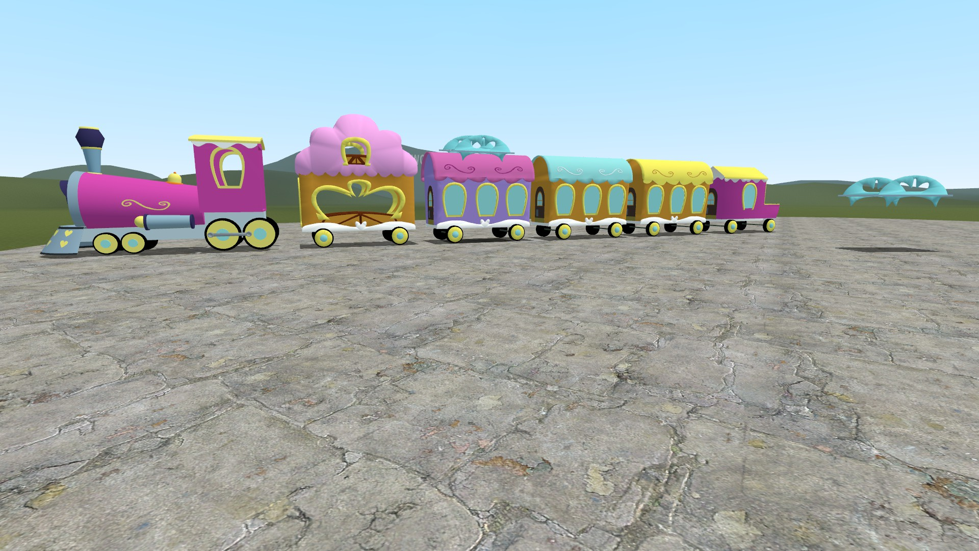 Michale: Gmod train models