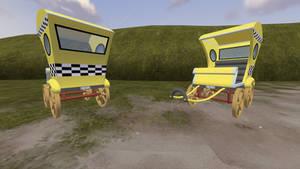(DL)(SFM) MLP Taxi Cart